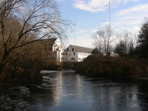 Hemlock Gorge Dam and Mill Bldg